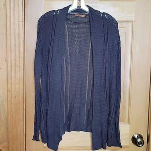 🌻Belldini women's loose-knit navy shrug